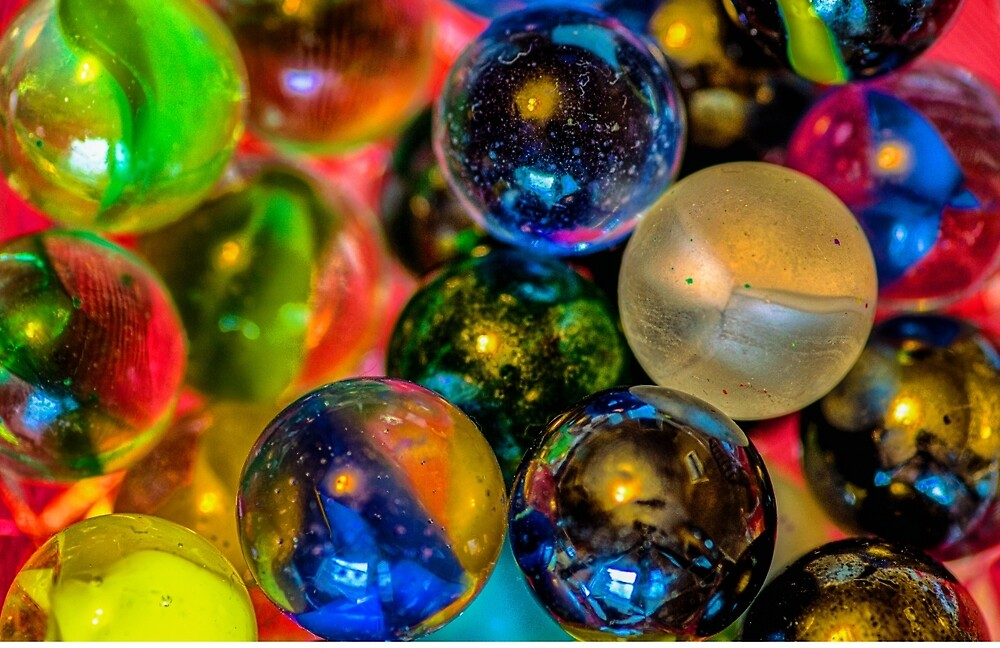 Playing with Marbles by Garvin Hunter Photography