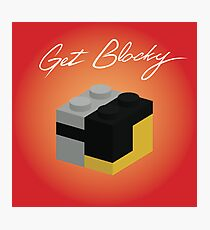 Get Blocky Photographic Print