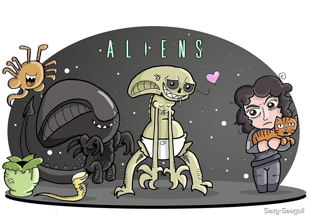 Cute Aliens by Sexy-Seagull