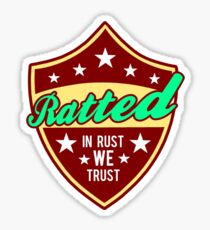 Ratted VW rat rod Sticker
