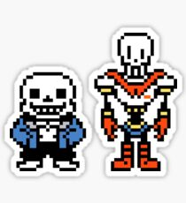 Undertale - Sans and Papyrus Sticker
