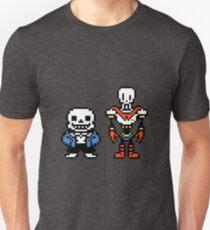 Undertale - Sans and Papyrus Unisex T-Shirt