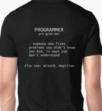 Programmer Definition Unisex T-Shirt