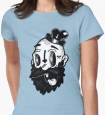 BEARD! Womens Fitted T-Shirt