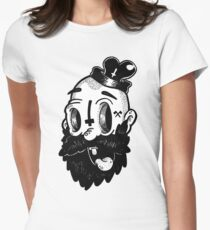 BEARD! Women's Fitted T-Shirt