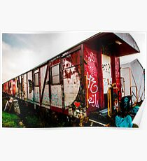 Graffiti train Poster