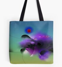 abstract scenery Tote Bag