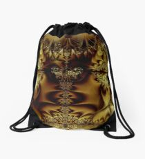 The Land of the Golden Lake Drawstring Bag