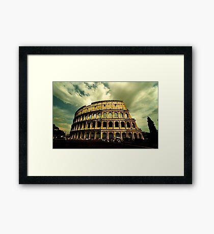 Colosseum - Rome Framed Print