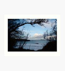 Natural Window - Harlyn Bay - Cornwall Art Print