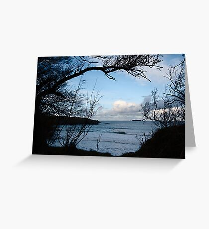 Natural Window - Harlyn Bay - Cornwall Greeting Card
