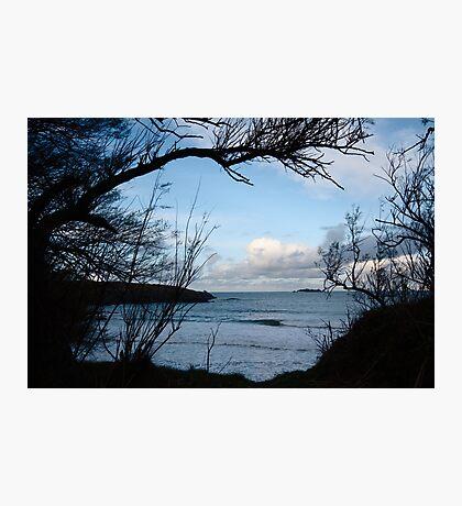 Natural Window - Harlyn Bay - Cornwall Photographic Print