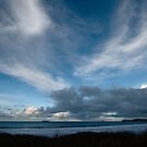 Blue Sea and Sky - Harlyn Bay, Cornwall by Samantha Higgs