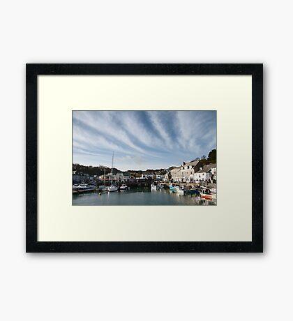 Padstow Skies Framed Print
