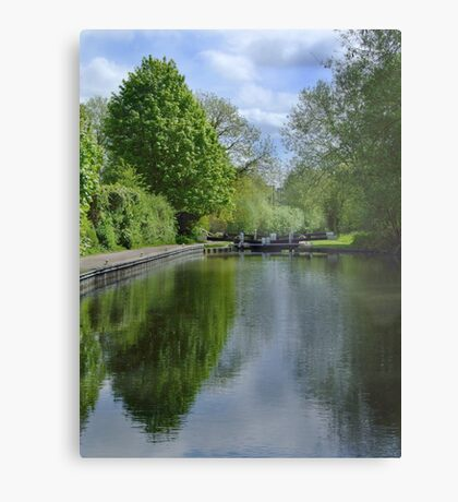 Greenham Lock - Newbury Metal Print