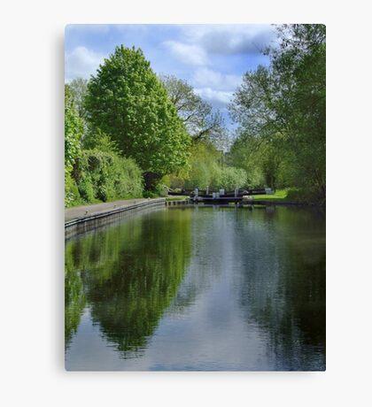 Greenham Lock - Newbury Canvas Print