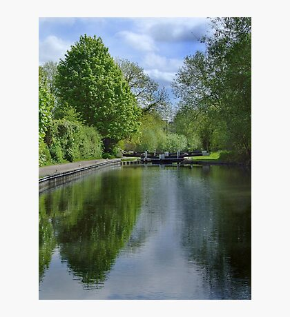 Greenham Lock - Newbury Photographic Print