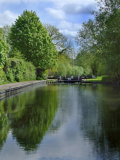 Greenham Lock - Newbury by Samantha Higgs