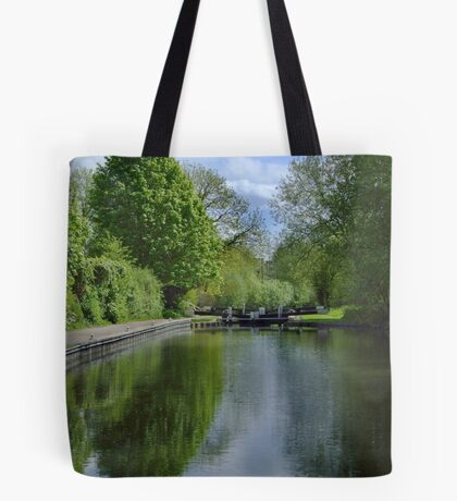 Greenham Lock - Newbury Tote Bag