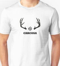 True Detective - Carcosa Antlers - Black T-Shirt