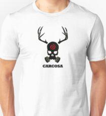 True Detective - Carcosa Gas Mask - Black T-Shirt