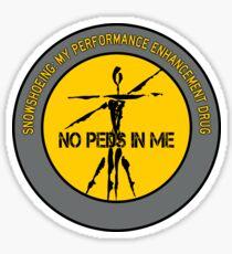 Snowshoeing - My Performance Enhancement Drug Sticker