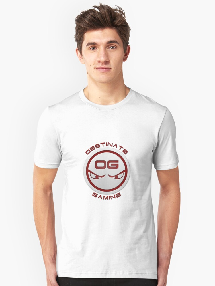 Obstinate Gaming (Maroon Text) by tenshar