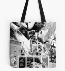 Faith Fallon Graphic Novel Page © Steven Pennella Tote Bag