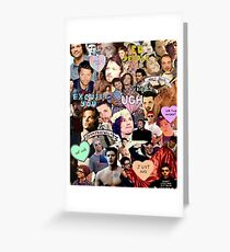 spn collage Greeting Card