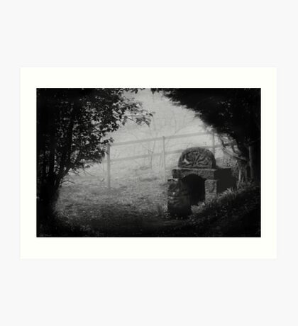 Ladywell In The Mist Art Print