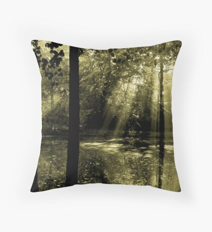 Morning in Bucklebury Throw Pillow