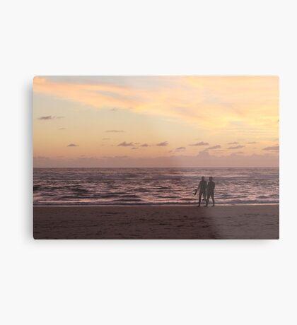 Surfers Evening Metal Print