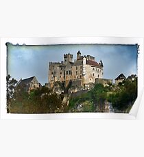 France - View of Beynac Castle Poster