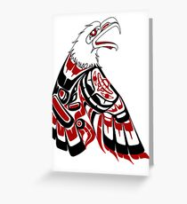 Eagle Human Greeting Card