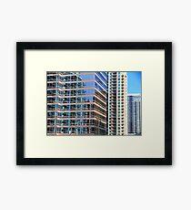 Modern Architecture in Toronto Framed Print