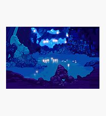 Wyndia: Plummet Caverns Location Painting Photographic Print