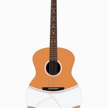 Underwear Guitar by THEtoeMas