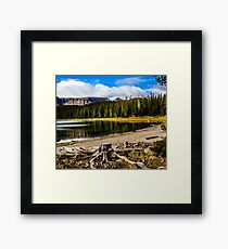 Three Creeks  Framed Print