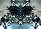 Blue Butterfly Lace II by owlspook