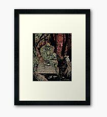 Swamp Watcher Framed Print