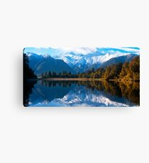 Lake Matheson, New Zealand Canvas Print