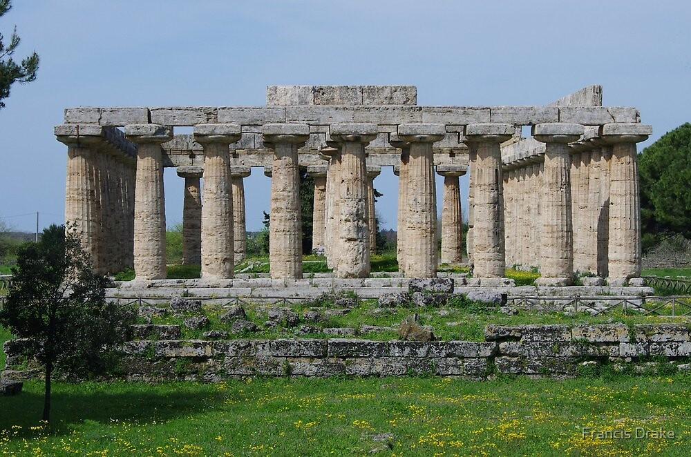 Temple Of Poseidon by Francis Drake