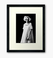 Larisa Lobanova backstage Framed Print