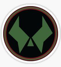 Dr. Doom Logo Sticker