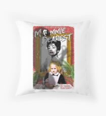 Mommie Dearest. Faye Dunaway. Joan Crawford. Throw Pillow
