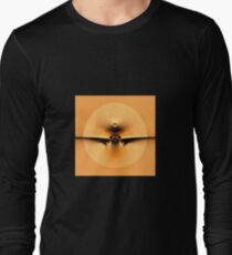Fly to the Sun on Golden Wing Long Sleeve T-Shirt
