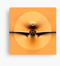 Fly to the Sun on Golden Wing Canvas Print