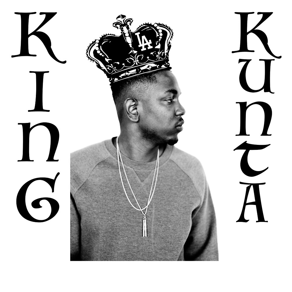 "Kendrick Lamar ""King Kunta"" by AirDesigns"