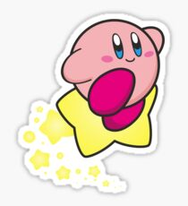 Ride on Kirby Sticker