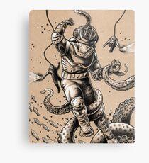 Danger Dive Metal Print